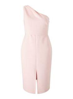 PETITE One shoulder dress