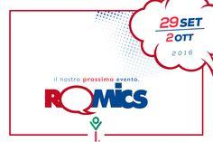 20a Edizione Romics Festival Del Fumetto A Roma 2016  Data: 29.09.16 - 02.10.16. Luogo: Fiera Roma, Via Portuense 1645-1647, 00148 Roma, Italia.  Se siete fan di fumetti, animazione e giochi di qualsiasi tipo e vi trovate a Roma tra il 29 settembre e il 2 ottobre 2016, allora vi consigliamo di visitare la Fiera Roma, dove si svolge Romics biennale espositiva del fumetto.  http://www.romaterminisuites.com/news/20160916-20a-Edizione-Romics-Festival-Del-Fumetto-A-Roma-2016.html