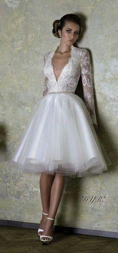 gorgeous dress for the civil wedding!
