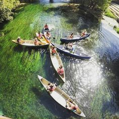 13 Swimming Spots Near San Antonio That Are Perfect for a Day Trip   San Marcos River The San Marcos River is only half an hour away and is a great place to swim, kayak, tube and possibly anything else you can do in the water. The river is known to be packed with college students in summer — so if that's not your thing, consider yourself warned.  Photo via Instagram/inertiatoursspringbreak
