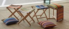 French Stripe Stools From £49.00