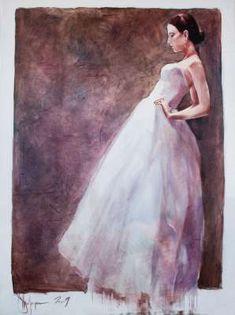 Igor Shulman Artwork / 2009 year Album / The Bride - sm Art Images, Saatchi Art, Original Paintings, Bride, Gallery, Artist, Artwork, Archive, Album