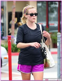 Semi-Exclusive... Reese Witherspoon Hits The Gym | Celeb Gossip ...