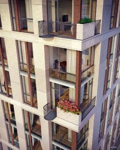 ideas for apartment building architecture facades window Facade Architecture, Residential Architecture, Contemporary Architecture, Apartment Complexes, High Rise Building, Building Facade, Cool Apartments, Facade House, Diy Patio