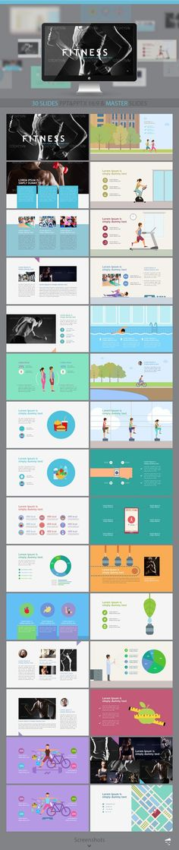 trendy slides powerpoint template pinterest presentation