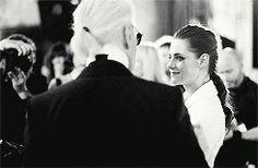 Kristen, Rihanna, & Mr.Lagerfeld Talk Chanel Couture