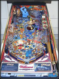 Williams Tales of the Arabian Nights - Pinball Pimp Restore 12