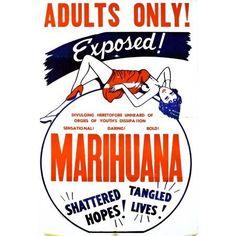 Marihuana Canvas Art - (11 x 17)