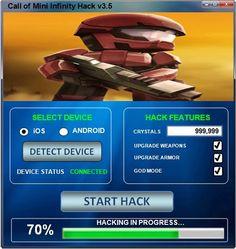 call of mini infinity mod apk god mode