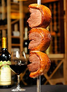 The Picanha Cut (Top Sirloin) is very popular in the churrascarias of Southern Brazil.