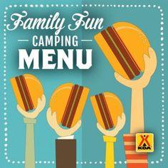 Family Fun Camping Menu!