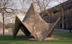 Hyperbolic Paraboloid Concrete Shell