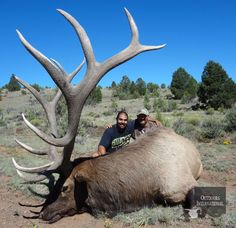 Arizona #Elk Hunting WOW, this is a nice trophy! #gameseason