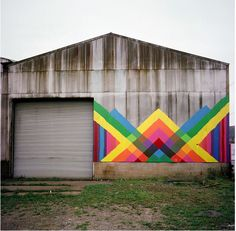 I love random murals in random places...if they are done well =)