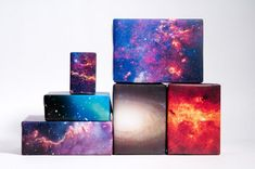 Space Themed Gift Wrapping Paper