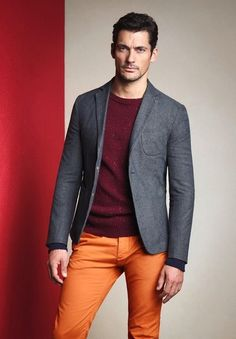 David Gandy   color  Not everyone could pull this off, but he always manages to look Hot!