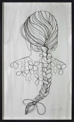 sculptural drawing by christina james nielsen: October 2011