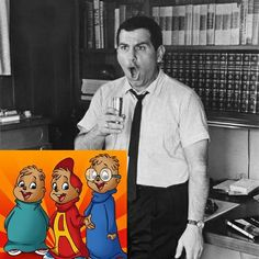 Ross Bagdasarian otherwise known as Dave Seville the man behind the chipmunks died today in 1972