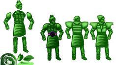 Jade Run golem sketches by @uncledev #gamedev #indiedev #animation http://uncledev.itch.io/jade-run