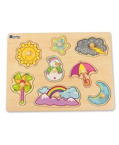 Andreu Toys ★ Puzzle Wetter