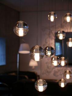 Bocci 14 series by BOCCI Lighting at Future Light Design Bocci Lighting, Luxury Lighting, Modern Lighting, Pendant Chandelier, Pendant Light Fixtures, Pendant Lighting, Multi Light Pendant, Cast Glass, Light Architecture