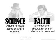religious truth vs scientific truth essay Can you name one truth where the scientific truth was the best option we had available, but now the religious truth is the best option many religious truths have been over turned because.
