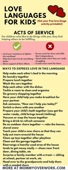 Learn The Five 5 Love Languages For Kids By Gary Chapman 100 Fun Ideas To Bond With And Improve The Relationship With Your Baby Or Children