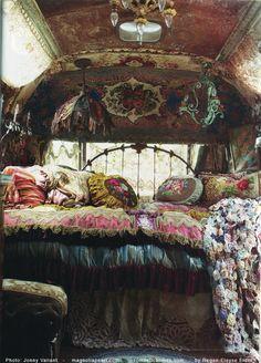 Inside of my future VW van? Gypsy life..