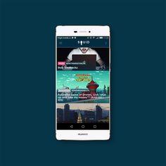 SQUID - prosta, intuicyjna i przyjemna dla oka aplikacja, która dostarczy Ci najświeższe newsy na ulubione tematy.