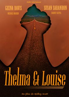 Affiche pour le film Thelma et Louise