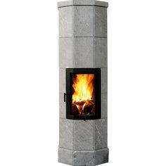 Octo-ovnene er klassikere blant klebersteinsovnene og har et karakteristisk åttekantet design. Octo Pluss 5 har høy dør med godt innsyn til flammene og kommer i 5 seksjoner. Finnes også med sideglass. Du kan velge mellom dør i grå, sort eller forniklet. K