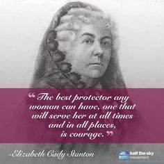 This day in history: July 19, 1848 was the first day of the Seneca Falls Convention in New York planned and organized by Elizabeth Cady Stanton and Lucretia Mott. It was an early and influential women's rights convention and a key milestone in the path to women's suffrage in the United States.