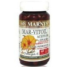 17,00€ - Marnys Aceite de Onagra 1100mg 60 perlas -Actúa sobre los principales sistemas de nuestro organismo: cardiovascular, articular, nervioso y epidérmico