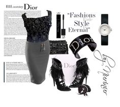 """""""DIOR ETERNAL"""" by nurinur ❤ liked on Polyvore featuring Christian Dior and LE3NO"""
