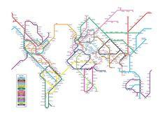 World Metro Subway Map Art Print Metro Subway, Subway Map, Nyc Subway, Map Design, Deco Design, Graphic Design, Graphic Art, Map Canvas, Canvas Art Prints