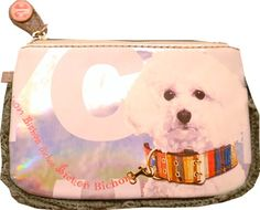 Fuzzy Nation Handbags. Fuzzy Nation Wristlet Screenprint Bichon Wristlet Winter.  #fuzzy #nation #handbags #fuzzynation #nationhandbags