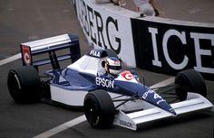 Jean Alesi  Tyrrell - Ford  Phoenix 1990