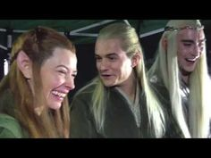 Elves reacting to fans reacting to the Hobbit trailer