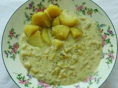 Mashed Potatoes, Oatmeal, Breakfast, Ethnic Recipes, Food, Whipped Potatoes, The Oatmeal, Morning Coffee, Smash Potatoes