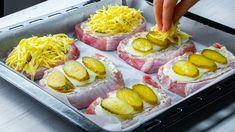 Nenáročné obložené vepřové kotlety pečené v troubě: Fantastické jídlo, které se hodí na běžný den, i na slavnostní stůl !