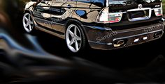 Custom BMW X5 Rear Bumper - Sarona