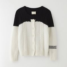 BAND OF OUTSIDERS drowning cable cardigan