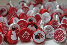Valentine DIY Ladybug Love Bug Printable by partypapercreations. , via Etsy.