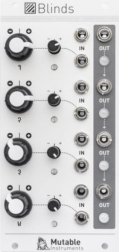 Modules – Blinds | Mutable Instruments