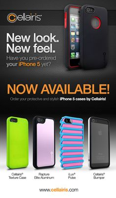 Now Available: New iPhone 5 Cases