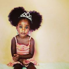 Look at this little princess! cc @Melissa Squires Hair Kids