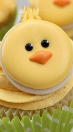 Cute Little Chick Cupcakes