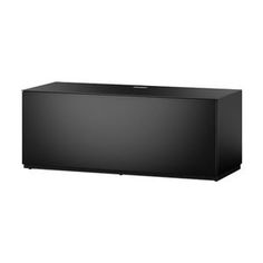 Meuble TV Sonorous ST110 Noir Meuble TV avec modules de rangement