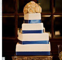 blue ribbon cake