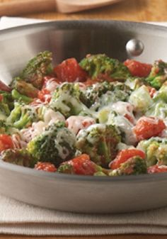 Italian Broccoli – try this broccoli and tomato recipe with the help of Hunt's!